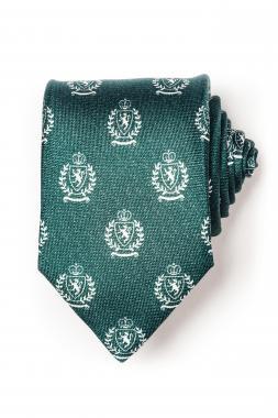 Seven Fold nyakkendõ zöld címeres 1007-3