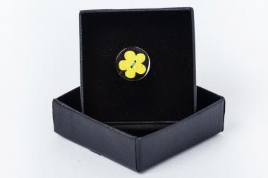 Kitûzõ - virág sárga 1810-AEPPP044