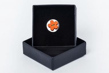 Kitûzõ - virág narancssárga 1810-AEPPP045