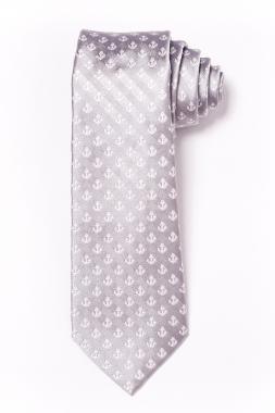 Gyerek nyakkendõ - szürke horgonymintás 2011-27