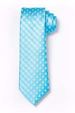 Gyerek nyakkendõ - türkiz horgonymintás 2011-31